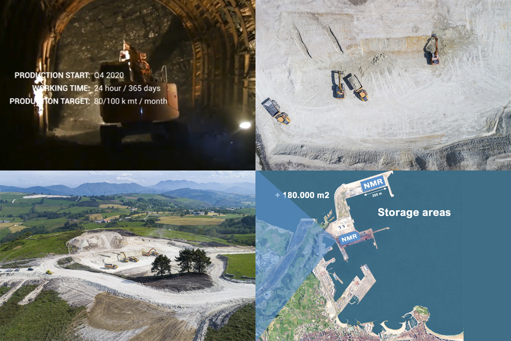 vertically integrated mining company
